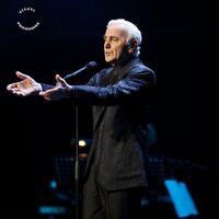 CHARLES AZNAVOUR - AZNAVOUR LIVE-PALAIS DES SPORTS 2015  DVD NEU