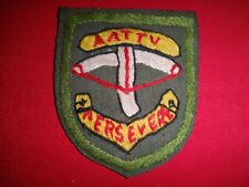 AATTV Australian Army Training Team PERSEVERE Vietnam War Hand Made Patch