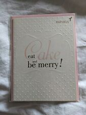 Papyrus Birthday Card Eat Cake and Be Merry! New
