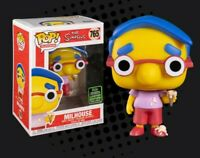 FUNKO Simpsons milhouse eccc exclusive 2020 pop vinyl now in stock