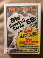 1988 Topps 28 Baseball Card Cello Pack With Andre Dawson on The Front