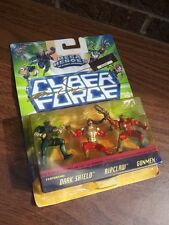 Marc Silvestri SIGNED CYBER FORCE MEGA HEROES FIGURE SET LIMITED EDITION RIPCLAW
