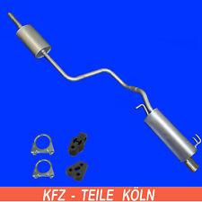 Smart Forfour 1.1/1.3 Agent + Muffler Exhaust System