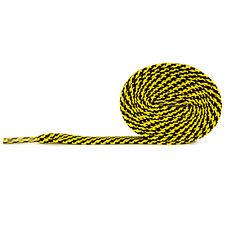 Schnürsenkel Flach Schwarz-Gelb 75cm-120cm reißfest,Polyester,899laces