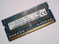 8GB DDR3L-1600 PC3L-12800 1600Mhz HYNIX HMT41GS6AFR8A-PB LAPTOP RAM MEMORY