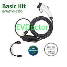 SALE 3X EV! Electric Vehicle Car Charger 16A EVSE/PHEV J1772 240V 6-20P + 120V
