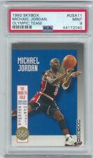1992-93 Skybox Olympic Team Michael Jordan #USA11 PSA 9