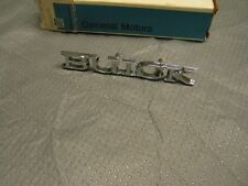NOS 1975 Buick Skyhawk Hood Ornament Header Emblem Rare Vintage GM 1249801