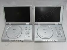 "Bulk Job Lot 2 x Shinco SDP-1250 10.2"" TFT Portable DVD Players UNTESTED"