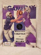 12-20-2010 Minnesota Vikings vs. Chicago Bears Favre Last Game Program, MINT!!