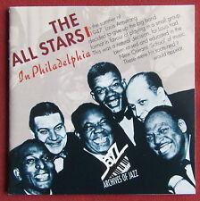 THE ALL STARS IN PHILADELPHIA   CD