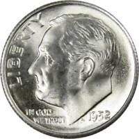 1952-S 10c Roosevelt Silver Dime Uncirculated Mint State