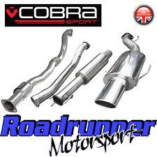 """VZ10a COBRA ASTRA COUPE 2.0 3"""" Turbo Back Sistema di scarico risuonano & SPORTS CAT"""