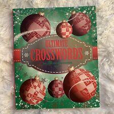 Christmas Crossword Puzzle Book
