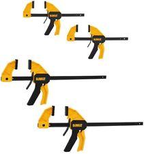 Dewalt Trigger Clamp Medium Large Vise Hand Grip Hook Fastening Truss 4-Pack New