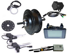 E-Bike Umbau Kit 36V 250W Hinterrad 8/9/10 RWD IP65 BAFANG G020 C961 schwarz