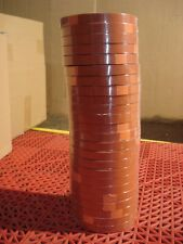 """Tesa 4287 Strapping Tape 1/2"""" Orange Tensilized High Performance 24 Rolls  NEW"""