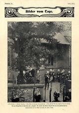 Trauerfeierlichkeiten für die Kaiserin Friedrich in Kronberg und Potsdam v.1901