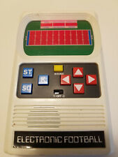 Mattel Electronic Football Hand Held Game NFL Football Toy Vintage