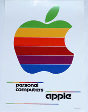 """APPLE PERSONAL COMPUTERS poster approx. 17""""/12"""" mint rolled shipping"""
