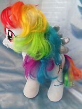 "My Little Pony Build A Bear 16"" plush stuffed Rainbow Pegasus Pony Horse animal"