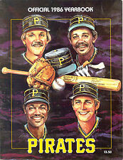 1986 PITTSBURGH PIRATES BARRY BONDS ROOKIE YEARBOOK BOB PRINCE TRIBUTE LEYLAND