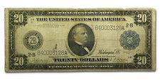1914 (B-New York) $20 FRN VG - SKU #67074