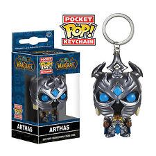 Funko World Of Warcraft Pocket POP Arthas Vinyl Figure Keychain NEW WOW Toys