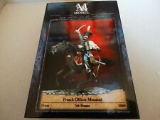 MModel 54mm - French Officer Mounted