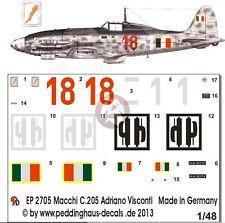 Peddinghaus 1/48 Macchi C.205V Veltro Serie III Markings Adriano Visconti 2705