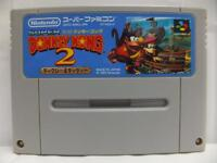 SUPER DONKEY KONG 2 II SFC SNES JAPAN NINTENDO FAMICOM