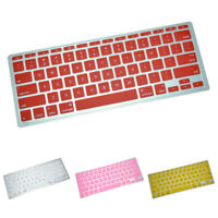 KF_ Silicone PC Laptop Keyboard Cover Skin Film for MacBook Air Pro Retina Str