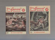 Jörn Farrow Originalhefte 1951 Nummer 61 - 166 komplett