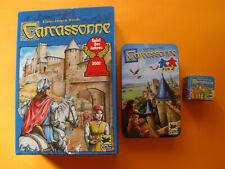 Carcassonne Grundspiel + Carcassonne für 2 + Der Graf