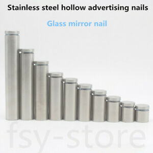 Stainless steel advertising nails, glass mirror nails, plate fixing