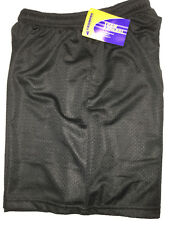 "Champro Boys Performance Lacrosse/Basketball Shorts YOUTH XL 30-34"" NWT - Black"