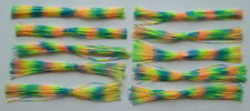 10 Custom Made Silicone Spinnerbait Skirts(Dragonfly)-Bass Fishing -Fishing-NEW