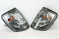 Side Turn Lights Corner Signals PAIR Crystal Fits MERCEDES E-Class W124 85-95