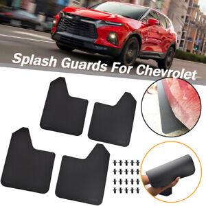 For Chevrolet Rally Mud Flaps Splash Guards Mudguards Mudflap Fender Flexible