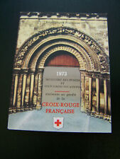France Sc# B471a French Red Cross 1973 Booklet Mnh. Lot of 10