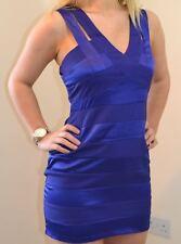 DOROTHY PERKINS LILA UK 12 LADIES BLUE BANDEAU PARTY DRESS