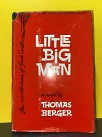 Little Big Man Thomas Berger 1st Edition Novel 2nd Printing Hardcover w Dust jac