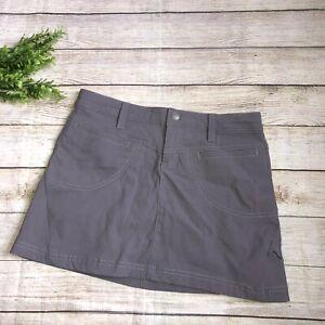 Athleta Gray Mini Skirt Skort 2p