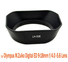 Bayonet Lens Hood for OLYMPUS LH-55B 4 M.ZUIKO DIGITAL ED 12-50mm 1:3.5-6.3 EZ