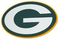 Green Bay Packers 3D Fan Foam Logo Sign Bild,NFL Football,Relief Wandlogo,45 cm