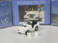 Wiking C&I Sondermodell Kaiser Jeep CJ5 - 50 Jahre UN Friedenstruppe UNFICYP