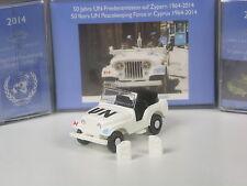 Wiking C&I Sondermodell Kaiser Jeep CJ5 - 50 Jahre UN Friedenstruppe UNFICYP