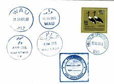 Wau: South Sudan Wau Postmark Collection / Südsudan Poststempel Sammlung