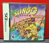 Slingo Quest  - Nintendo DS DS Lite 3DS 2DS Game Complete + Tested
