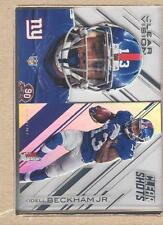 Odell Beckham Jr. CS-12 2015 Panini Clear Vision Clear Shots